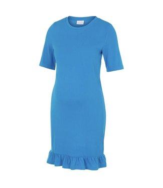 Mamalicious Mlsif dress aster blue