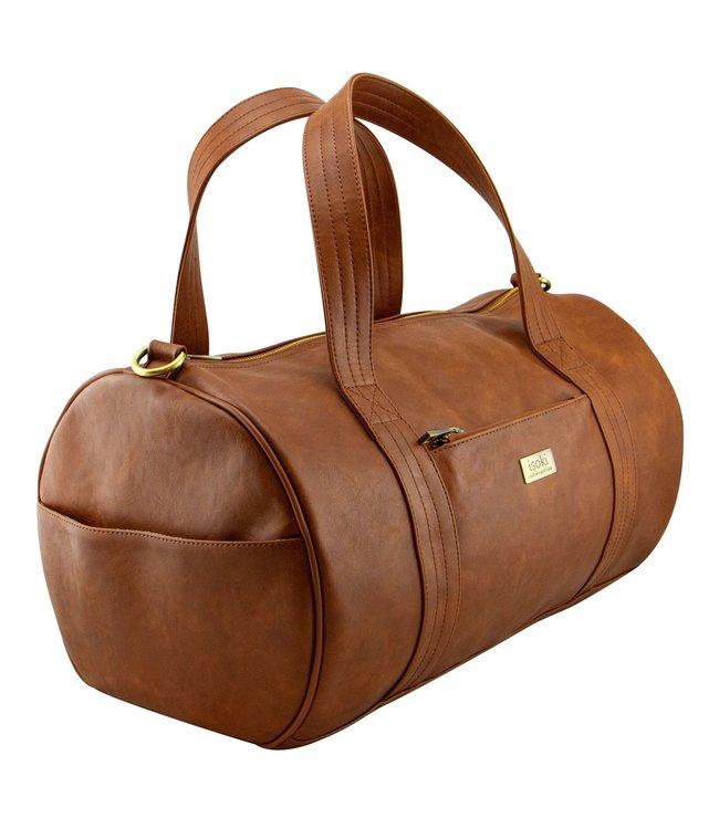 Isoki Kingston duffle Bag cognac