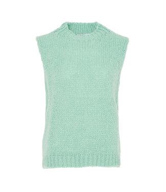 Noella Kala vest wool pale mint