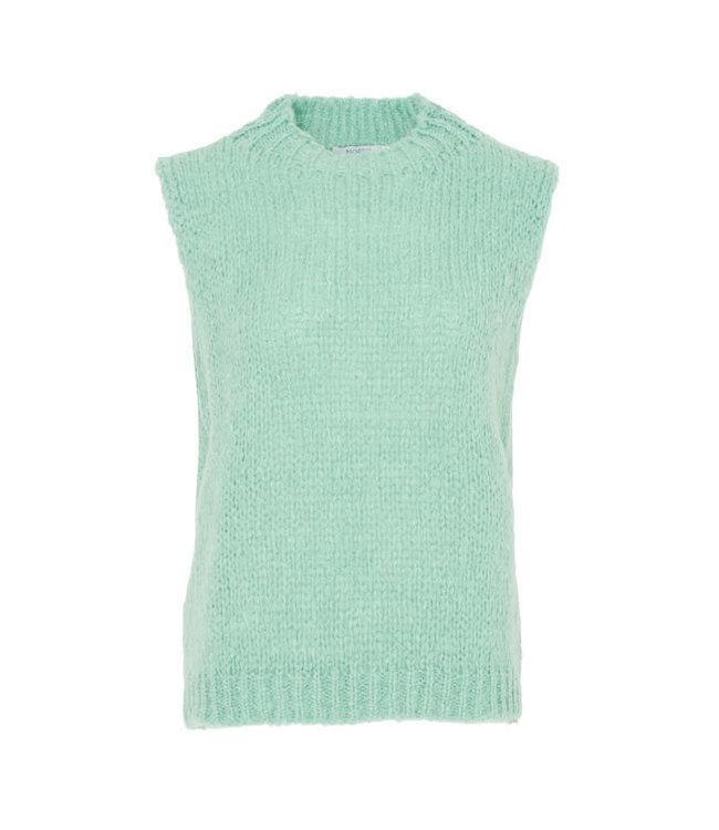 Kala vest wool pale mint