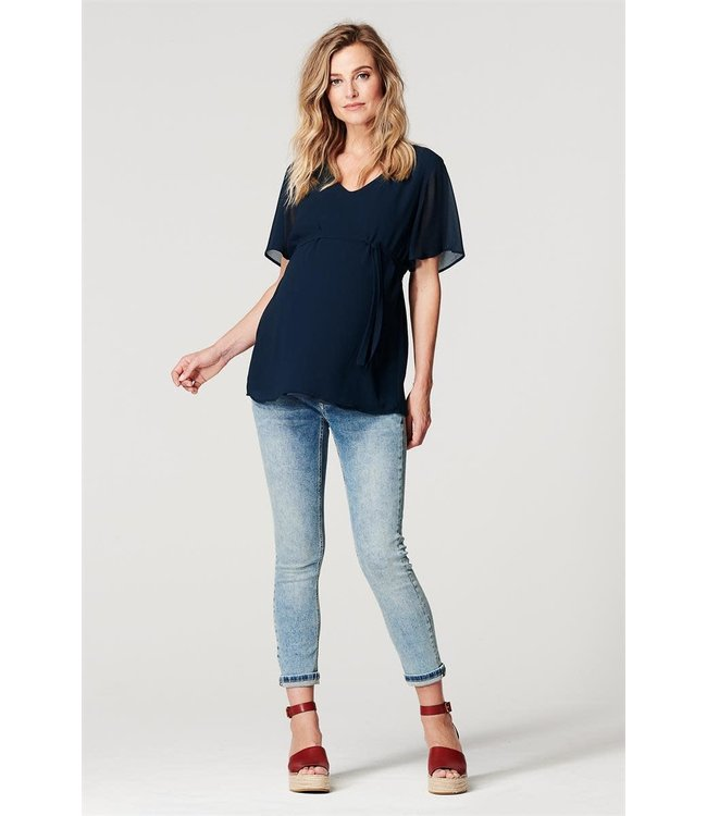 Jeans slim mila 7/8 vintage blue