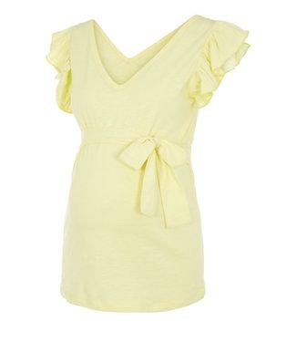 Mamalicious Mlibi jersey top yellow