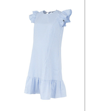 Mamalicious Mlkimi short dress capsleeves blue