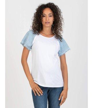 Attesa T-shirt bouclé