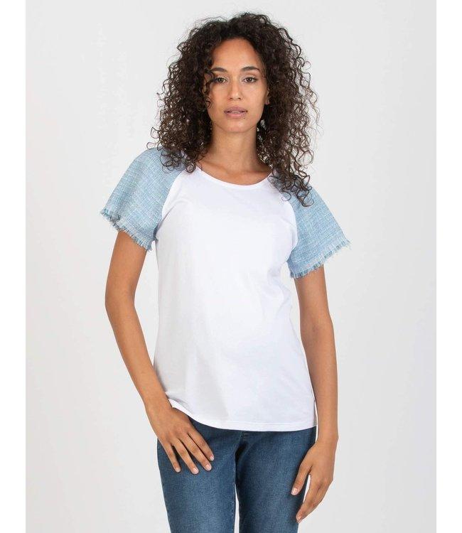 T-shirt bouclé