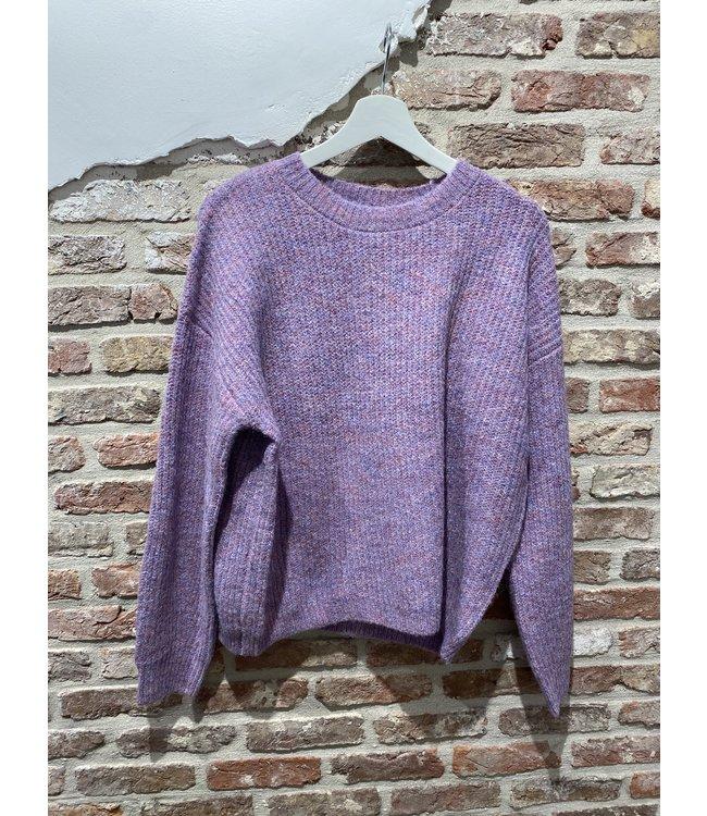 Frenchie Knit Lila