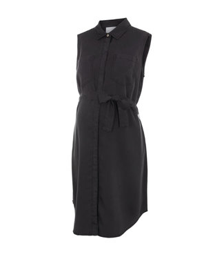 Mamalicious Mlmaddie black tencel dress