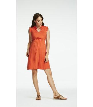 Queen Mum Dress Dili oranje
