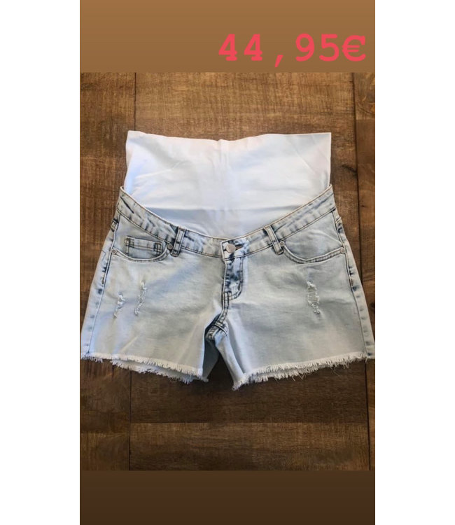 Shortje jeans ripped