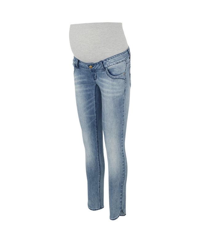 Mllaval slim split jeans