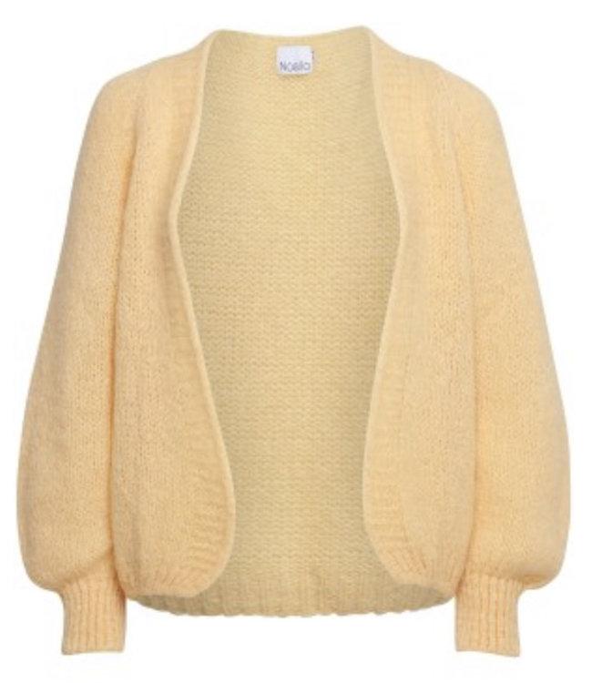 Fora knit cardigan yellow