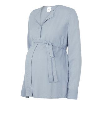 Mamalicious Mlveronika blouse blue