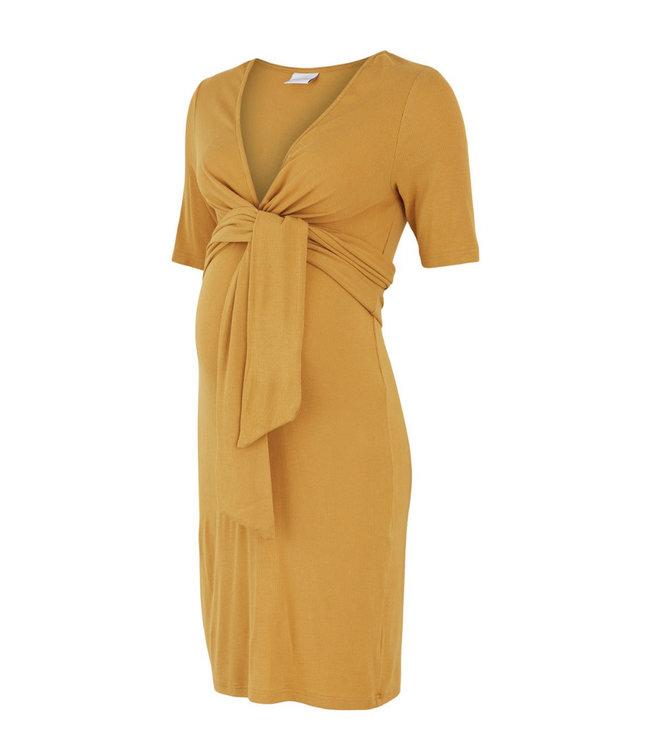 Mlkolette Dress Amber gold