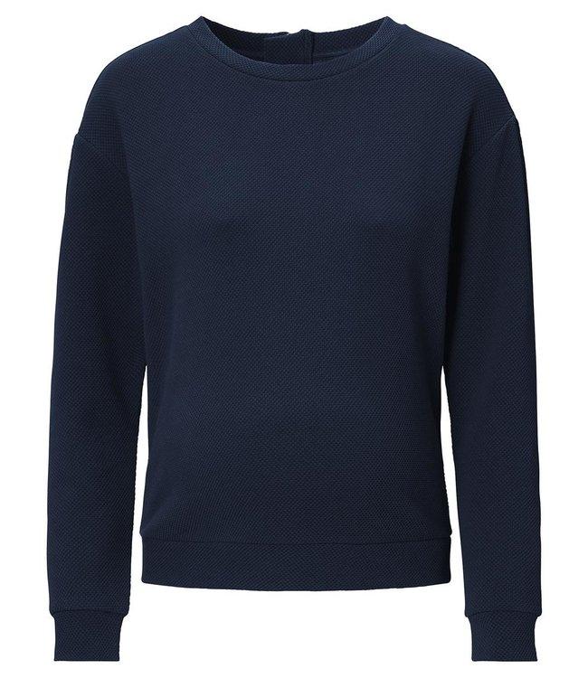Sweater ls Groves Night Sky Blue