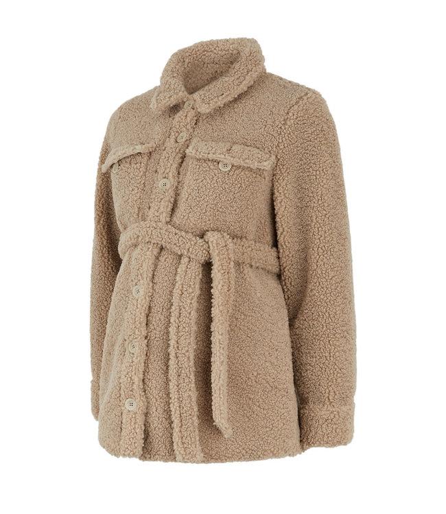 Mamalicious Mlflof teddy jacket