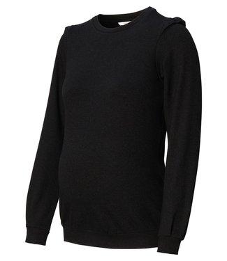 Noppies Sweater nursing geneva zwart