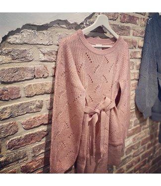 Mamalicious Mlanna knit trui roze