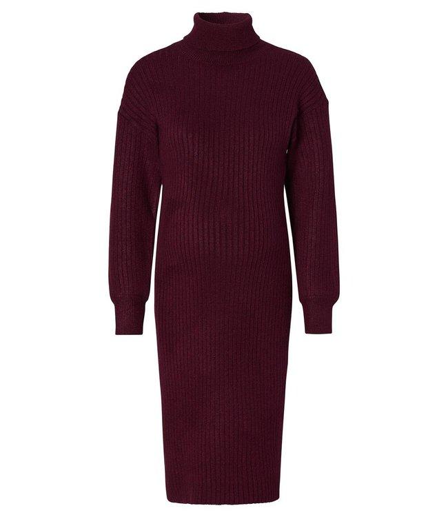 Jurk longsleeve knit port royal