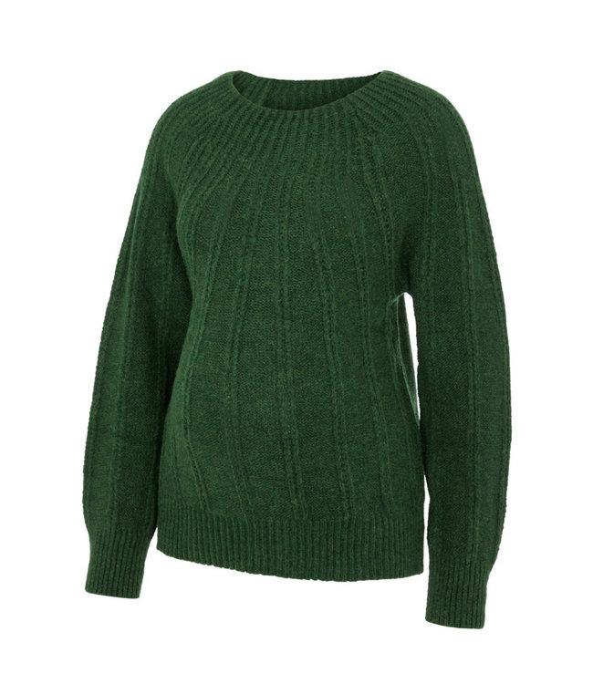 Mldelilah knit trui edengreen