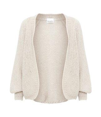 Noella Fora knit cardigan sand