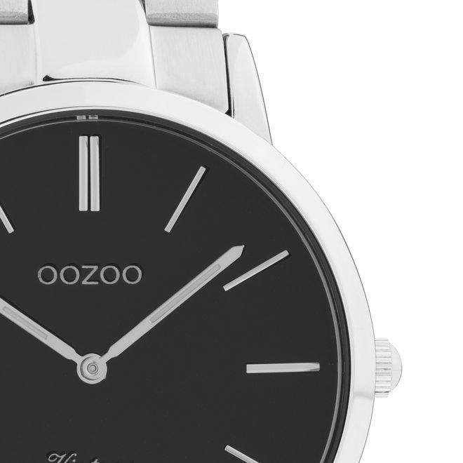 OOZOO Vintage - C20022- Damen - Edelstahl - Glieder-Armband - Silber