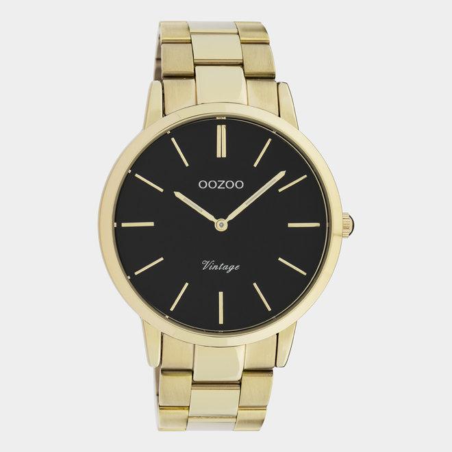OOZOO Vintage - C20023 - Herren - Edelstahl - Glieder-Armband - gold
