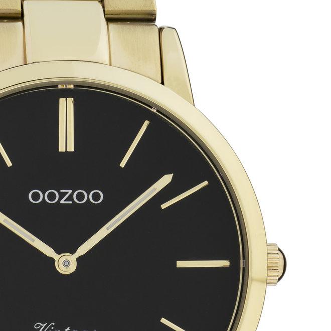 OOZOO Vintage - C20023- Herren - Edelstahl - Glieder-Armband - gold
