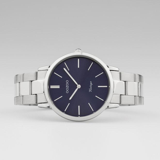 OOZOO Vintage  - C20029 - Damen - Edelstahl - Glieder-Armband - Silber