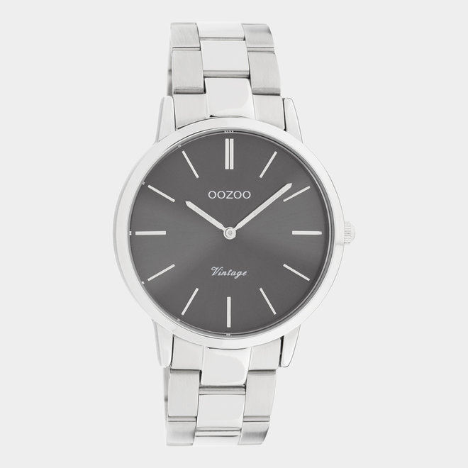OOZOO Vintage  - C20030 - Damen - Edelstahl - Glieder-Armband - Silber