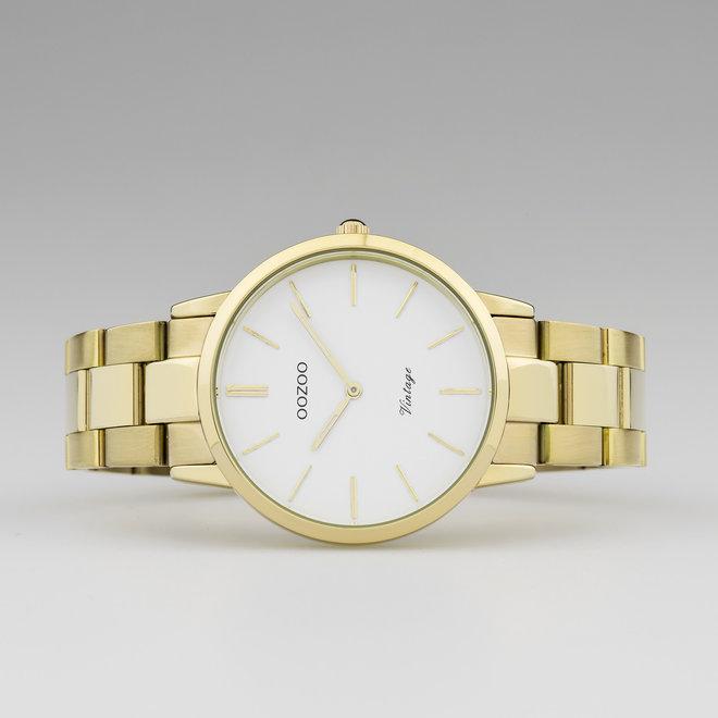 OOZOO Vintage  - C20034 - Damen - Edelstahl - Glieder-Armband - Gold