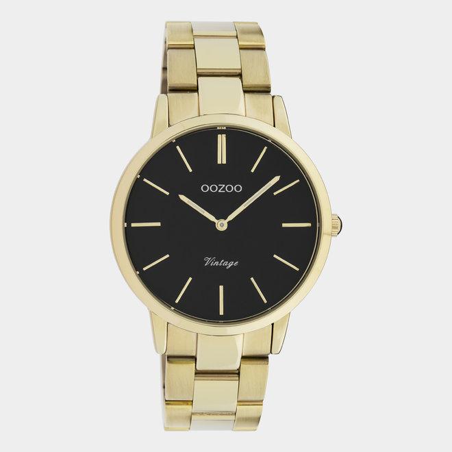 OOZOO Vintage  - C20035 - Damen - Edelstahl - Glieder-Armband - Gold