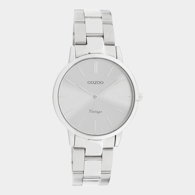 OOZOO Vintage  - C20039 - Damen - Edelstahl - Glieder-Armband - Silber