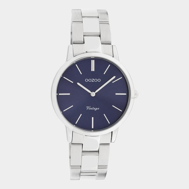 OOZOO Vintage  - C20041 - Damen - Edelstahl - Glieder-Armband - Silber