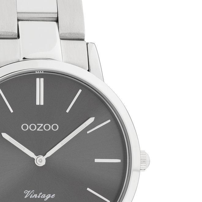 C20042 - Damen - Edelstahl - Glieder-Armband - Silber