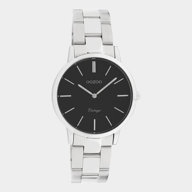 OOZOO Vintage  - C20043 - Damen - Edelstahl - Glieder-Armband - Bicolor/Silber