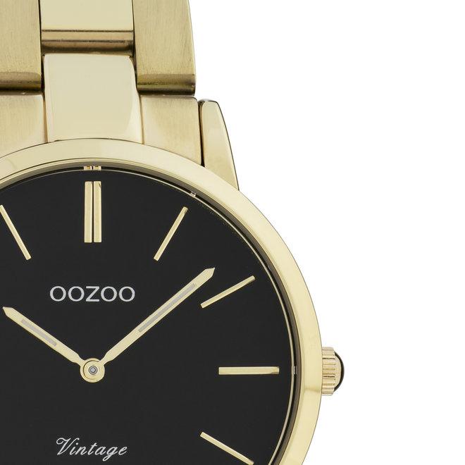 OOZOO Vintage  - C20047 - Damen - Edelstahl - Glieder-Armband - Gold