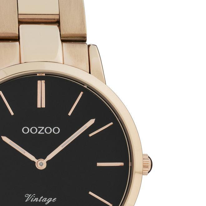 OOZOO Vintage - C20049 - Damen - Edelstahl-Armband - Roségold