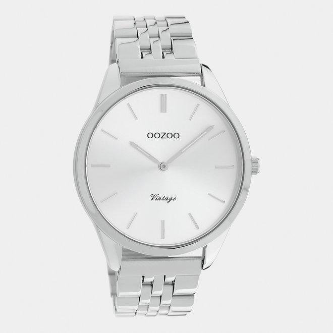 OOZOO Vintage - C9981 - Unisex - Edelstahl-Armband - Silber
