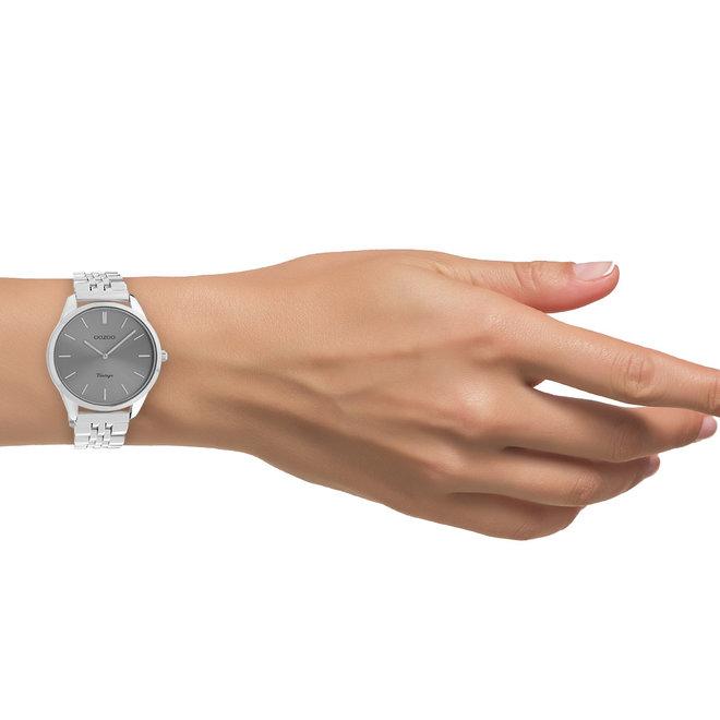 OOZOO Vintage - C9983 - Unisex - Edelstahl-Armband - Silber