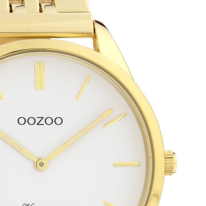 OOZOO Vintage - C9985 - Damen - Edelstahl-Armband - Gold/Silber