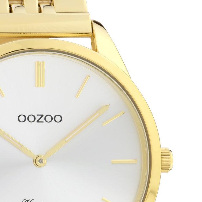 OOZOO Vintage - C9986 - Damen - Edelstahl-Armband - Gold/Silber