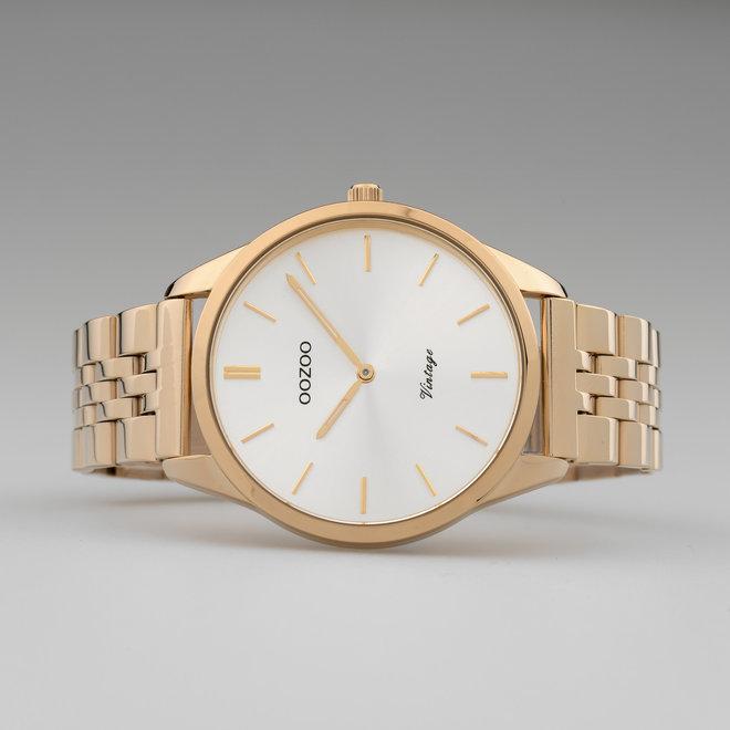 OOZOO Vintage - C9988 - Damen - Edelstahl-Armband - Roségold/Silber