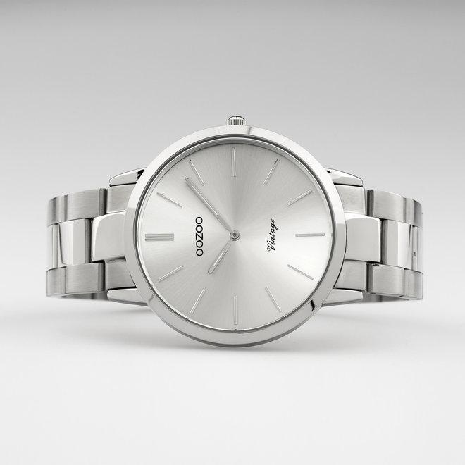 OOZOO Vintage - C20100 - Unisex - Edelstahl-Armband - Silber