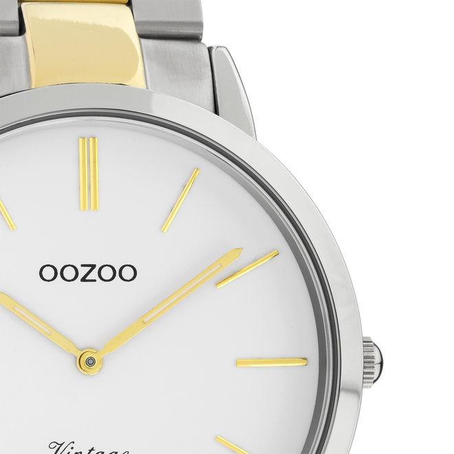 OOZOO Vintage - C20101 - Unisex - Edelstahl-Armband - Bicolor