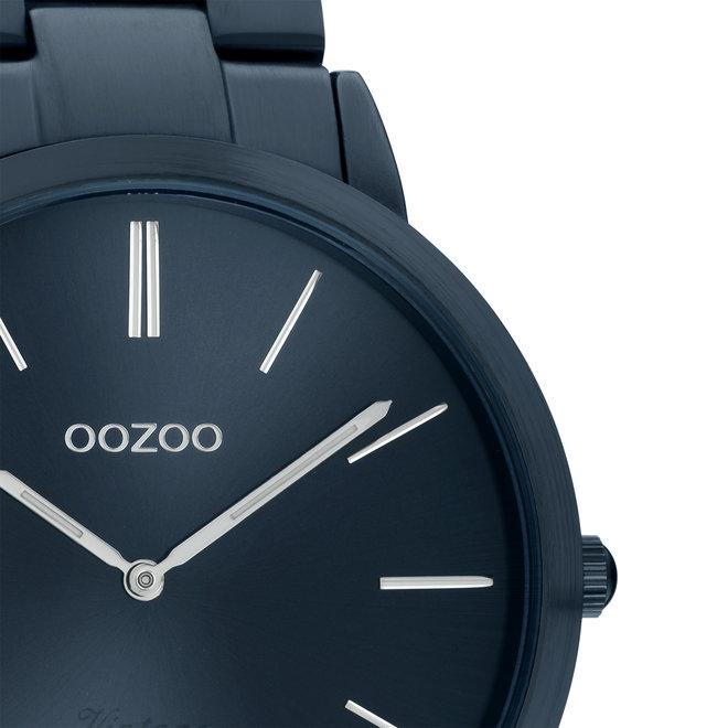 OOZOO Vintage - C20102 - Unisex - Edelstahl-Armband - Dunkelblau