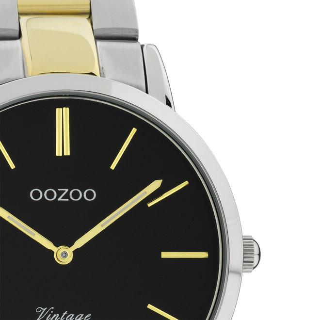 OOZOO Vintage - C20104 - Unisex - Edelstahl-Armband - Bicolor