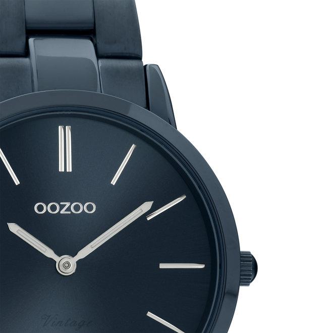 OOZOO Vintage - C20108 - Damen - Edelstahl-Armband - Dunkelblau