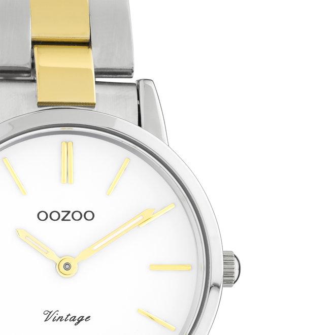 OOZOO Vintage - C20112 - Damen - Edelstahl-Armband - Bicolor/Silber