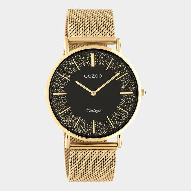 OOZOO Vintage - C20138 - Damen - Edelstahl-Mesh-Armband – Roségold