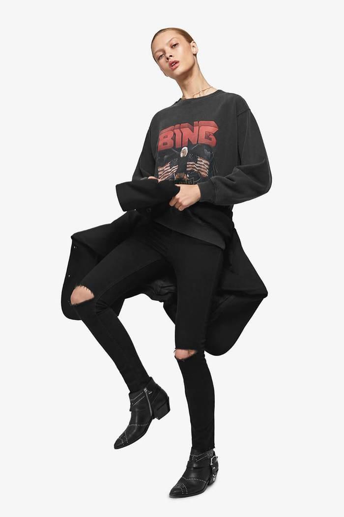 Vintage Bing Sweatshirt - Black-2